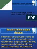 Transformarea Dinților Metode de Calcul Inrestaurările Odontale 1