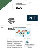 20 Temas WordPress Grátis e Responsivos Para Sua Loja Virtual No WooCommerce