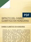 Cambio Climatico en Honduras