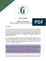 No a La Baja - Jóvenes y Sistema Penal, Apuntes y Reflexiones Sobre El Avance Punitivo Del Estado