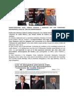 Exprocuradores Abogados de Mafia de Cuello y Corbata -Perú