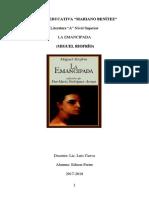 Esquema de Analisis Literario de La Obra La Emancipada de Miguelriofrío