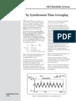SKF Porque El Synchronous Time Averaging