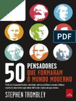 50 Pensadores que Formaram o Mu - Stephen Trombley.pdf