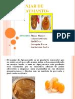 Manjar de Aguaymanto Grupal