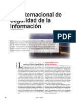 Día Internacional de Seguridad de La Información