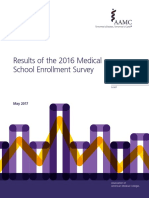 2016 Medical School Enrollment Survey Report