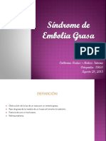 Síndrome de Embolia Grasa