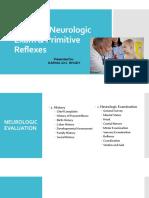 Pediatric Neurologic Exam Primitive Reflexes