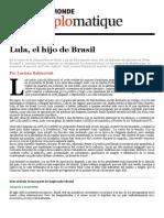 El Dipló _ Lula, El Hijo de Brasil