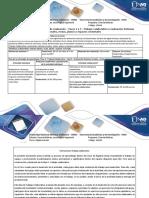 Guía de Actividades y rúbrica de calificación – Fases 4 y 5 – Trabajo colaborativo y evaluación Sistemas lineales, rectas, planos y espacios vectoriales-4