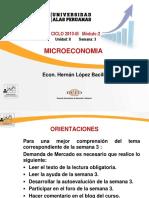Micro economía Semana 3