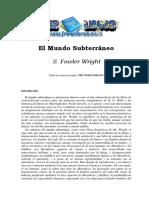 El Mundo Subterraneo - S. Fowler Wright-FREELIBROS