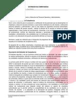 3. Estandar de Competencia EC0306 Reclutamiento y Seleccion de Personal Operativo y Administrativo.pdf