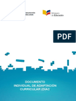 Documento Individual de Adaptacion