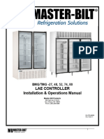 Tmg Series Glass Door Merchandisers Manual