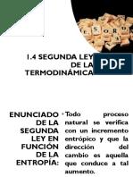 2a y 3a Leyes de La Termodinámica