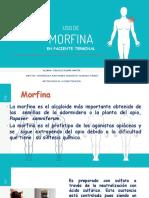 Morfina en Cancer