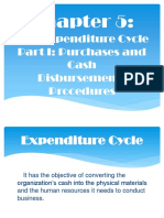 Expenditure Cycle