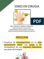 Infecciones en Cirugia Clase
