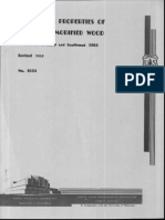 Mechanical Properties of Laminated Modified Wood