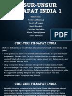 Unsur-unsur Filsafat India 1