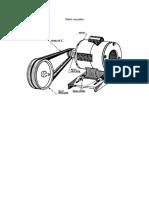 Motor Con Polea