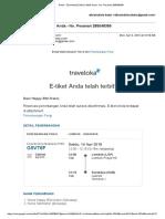 E-tiket Citilink Anda - No. Pesanan 285048356