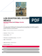 Los Exvotos Del Occidente de Mexico