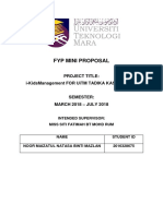 Fyp Mini Proposal 2