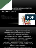 Reglamento Para La Proteccion Al Ambiente y La