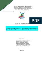 Complejidad Jurídica Justicia y Diversidad