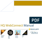 Hq Web Connect Manual