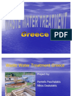 COV WWT Semestral Projects 2007 8 Waste Water Treatment Project Greece