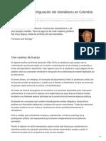 Leal Buitrago, Francisco. Bipartidismo y Configuración Del Clientelismo en Colombia 2
