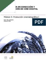 Modulo 5. Produccion Cinematografica