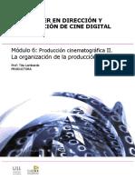 Modulo 6. Producción Cinematografica II