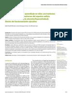Conducta Adaptativa y de Aprendizaje en Niños Con Tr Del Neurodesarrollo