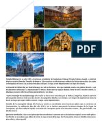Lugares Histroicos de Quetzaltenango