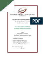 Actividad colaborativa N° 03 Peligros de la planificacion estrategica