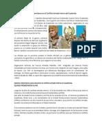 Quienes Intervinieron en El Conflicto Armado Interno de Guatemala