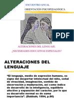 Alteraciones Del Lenguaje Presentacion
