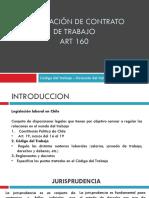 Presentacion Art 160 codigo del trabajo