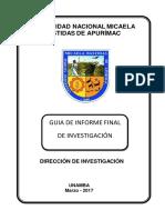 Guía Informe Final de Investigación de Docentes 2017WORD
