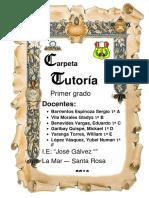 caratula tutoria