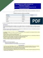 Communiqué de Presse Du Bulletin de Surveillance Sanitaire Des S13 Et S14-2018