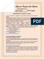 9° GUIA POLITICA ORGANISMOS DE CONTROL