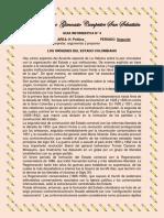 9° GUIA POLITICA FORMACION ESTADO COLOMBIANO