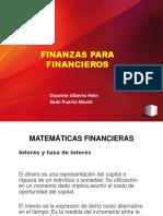 Matemáticas Fiancieras