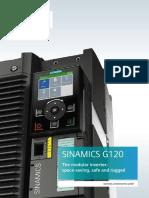 Brochure Sinamics G120